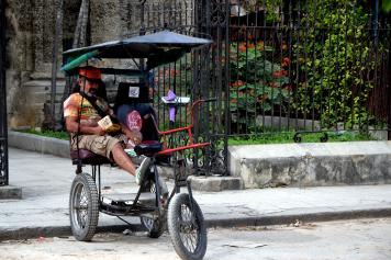 Ook het ondernemersleven in Havana.
