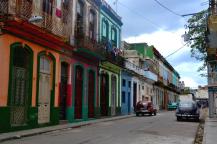Straatbeeld van Centro Habana, de volksbuurt tussen het oude, toeristische Havana Vieja en het hippe nieuwere Vedado.